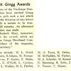 27 Merit Gregg Awards