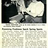 Promising Freshmen Spark Spring Sports