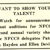 Want to Show Your Talent?