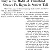 'Mary is the Model of Womanhood', Stresses Fr. Regan in Student Talk