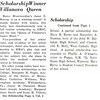 Scholarship Winner Villanova Queen