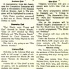 Club News Variety Highlights Meetings