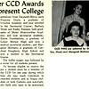 Freshmen Corner CCD Awards Five GM-ers Represent College