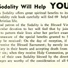 Sodality will Help YOU