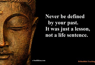 Never be defined by your #past.