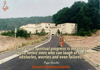 The path of #spiritual #progress is meant for those #heroic ones who can #laugh at their #obstacles, #worries and even #failures.  #SwamiChinmayanandaji #ChinmayaMission  #Swami #Chinmayananda #gyan #wisdom #knowledge