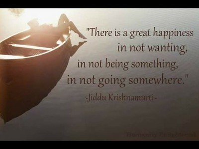 There is a great #happiness in not #wanting,