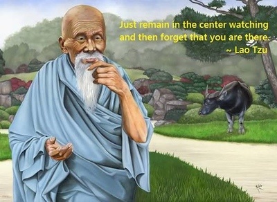 Just remain in the center watching and then forget that you are there.  #LaoTzu #gyan #wisdom #knowledge
