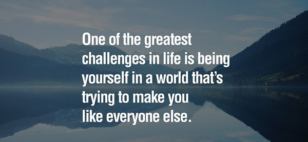 One of the #greatest #challenges in #life is