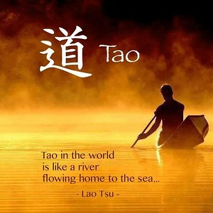 #Tao in the world is like a river flowing home to the sea...  #Lao #Tsu #gyan #knowledge #truth #wisdom