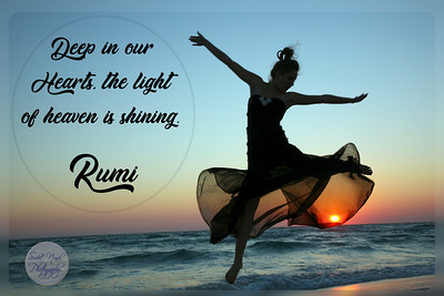 Deep in our hearts, the light of heaven is shining.  #Rumi #gyan  #knowledge #truth #wisdom #quote