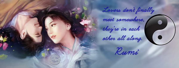 Lovers don't finally meet somewhere, they're in each other all along.  #Rumi #gyan #knowledge #truth #wisdom #quote