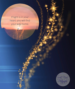 If the light is in your heart, you will find your way home.  #Rumi #gyan  #knowledge #truth #wisdom #quote