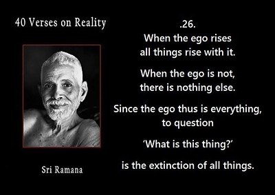 When the #ego rises all things rise with it.