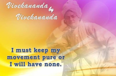 I must keep my movement pure or I will have none.  #Vivekananda by Vivekananda #SwamiVivekananda  #gyan #wisdom #knowledge