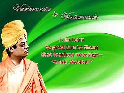 "I am born to proclaim to them that fearless message - ""Arise, Awake!""  #SwamiVivekananda #Swami #Vivekananda #gyan #wisdom #knowledge"