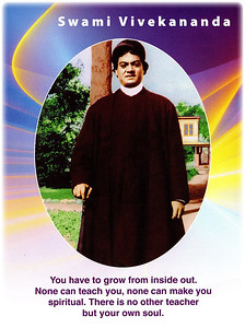 You have to grow from inside out. None can teach you, none can make you spiritual. There is no other teacher but your own soul.  Swami Vivekananda