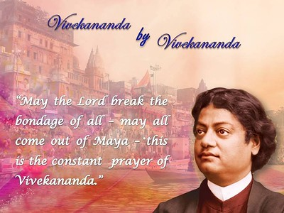 May the #Lord break the #bondage of all - may all come out of #Maya - this is the constant prayer of Vivekananda  #SwamiVivekananda  #Swami #Vivekananda  #gyan #wisdom #knowledge