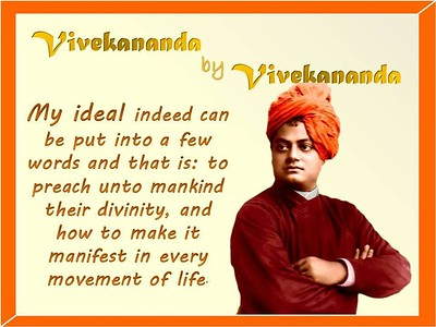 My #ideal indeed can be put into a few words and that is: to preach unto mankind their #divinity, and how to make it manifest in every moment of #life   #SwamiVivekananda #gyan  #wisdom #knowledge