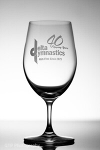 40th Commemorative Glass