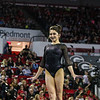 Georgia's Rachel Schick during the Gymdogs' meet against Arkansas in Stegeman Coliseum in Athens, Ga., on Friday, Jan. 20, 2016. (Photo by Cory Cole)