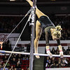 Georgia's Morgan Reynolds during the Gymdogs' meet against Arkansas in Stegeman Coliseum in Athens, Ga., on Friday, Jan. 20, 2016. (Photo by Cory Cole)