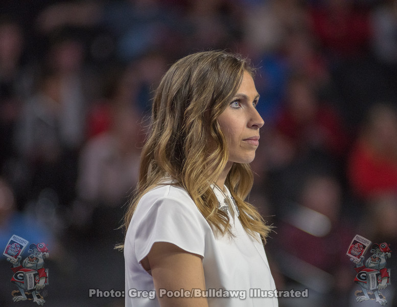 Courtney Kupets Carter– Georgia vs. Boise State – March 10, 2018