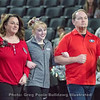 Hayley Sanders and family – Georgia vs. Boise State – March 10, 2018