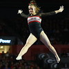 Georgia's Marissa Oakley during the GymDogs' meet against Boise State at Stegeman Coliseum in Athens, Ga., on Saturday, March 10, 2018. (Photo by Steffenie Burns)