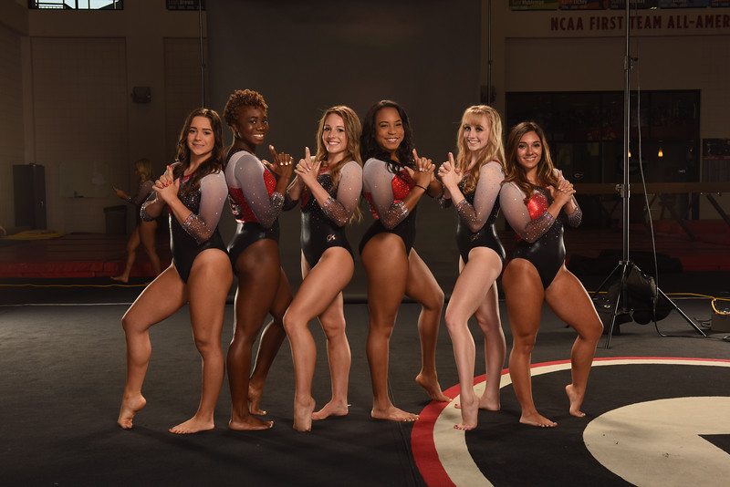 The Georgia GymDogs (Photo from Georgia Sports Communication)