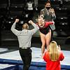 Georgia gymnast Rachel Baumann during a gymnastics meet against Missouri at Stegeman Coliseum in Athens, Ga., on Friday, January 8, 2021. (Photo by Tony Walsh)