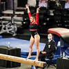 Georgia gymnast Alyssa Perez-Lugones  during a gymnastics meet against Missouri at Stegeman Coliseum in Athens, Ga., on Friday, January 8, 2021. (Photo by Tony Walsh)