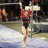 Georgia gymnast Megan Roberts during a gymnastics meet against Missouri at Stegeman Coliseum in Athens, Ga., on Friday, January 8, 2021. (Photo by Tony Walsh)