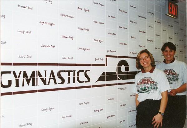 014e 1993 new gym tile wall