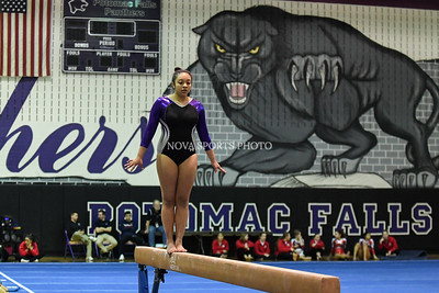 Gymnastics: Potomac Falls 5-Team Meet 1.19.17
