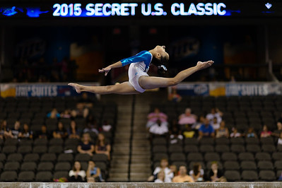 Secret U.S. Classic Women's Gymnastics @ Sears Centre 07.25.15