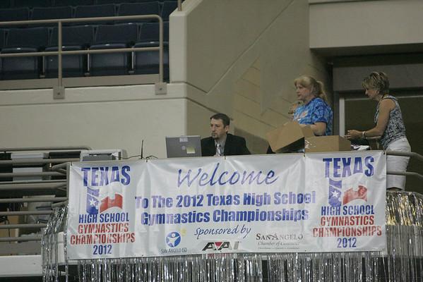 TX HS Gymnastics State 2012 #1