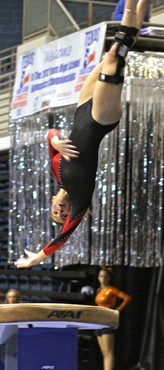 TX HS Gymnastics State 2012 #7