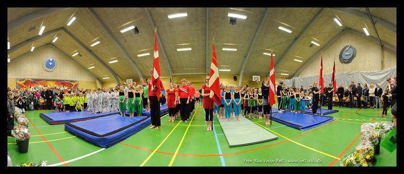 Gymnastikopvisning - Blidstrup Hallen - Marts 2013