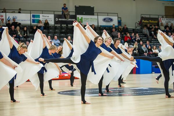 Pretty Women - N.I.F. Gymnastik opvisning 2018 9. marts Arena Mors