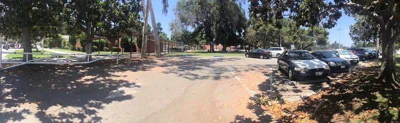 Parking Lot View #1