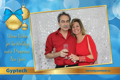 Holiday Greeting Postcards from Gyptech Holiday Party 2016