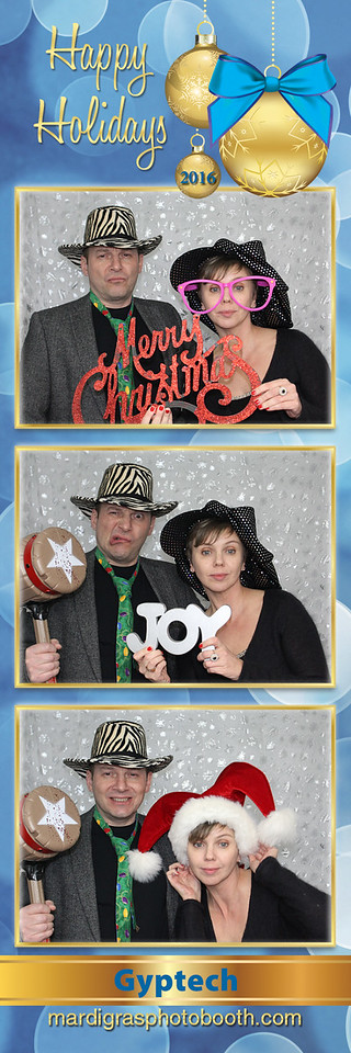 Photo Strips from Gyptech Holiday Party 2016
