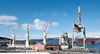 DA CAI YUN, Hong Kong-registrert, 28 000 dwt, 167 m x 28 m. Kom til kai i Narvik 12. april 2016. Losser stål og wire til den nye Hålogalandsbrua.