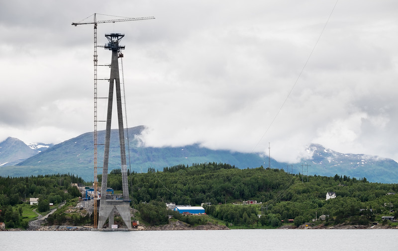 Hålogalandsbrua 7. juli 2016