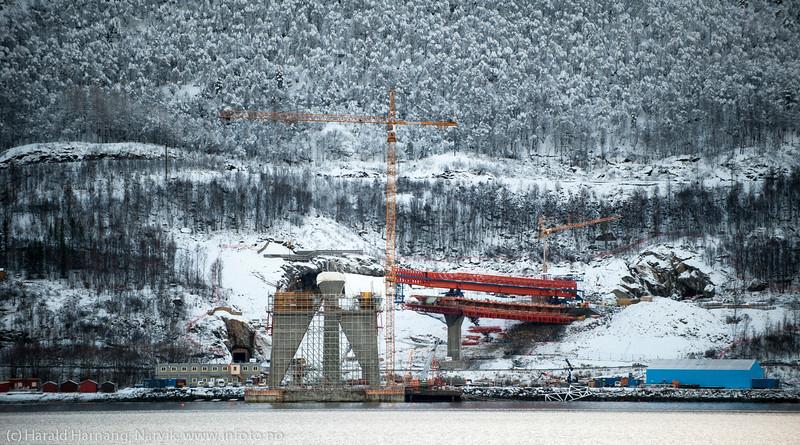 Hålogalandsbrua, 12. nov 2014