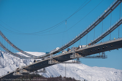 Hålogalandsbrua 9. mars 2018