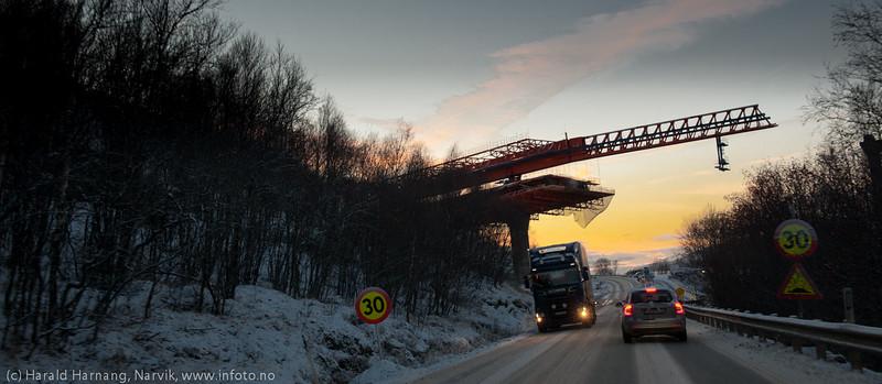 Hålogalandsbrua 12. nov. 2014