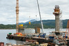 Hålogalandsbrua, bygging pr 22. august 2014.