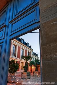 Ouverture de l'Hôtel Airelles Château de Versailles, Le Grand Contrôle (photo réalisée avant le passage de la commission de sécurité).